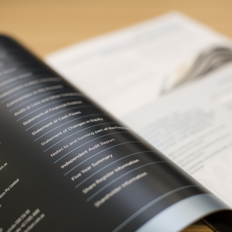 PMP Limited - Annual Report - contents beauty