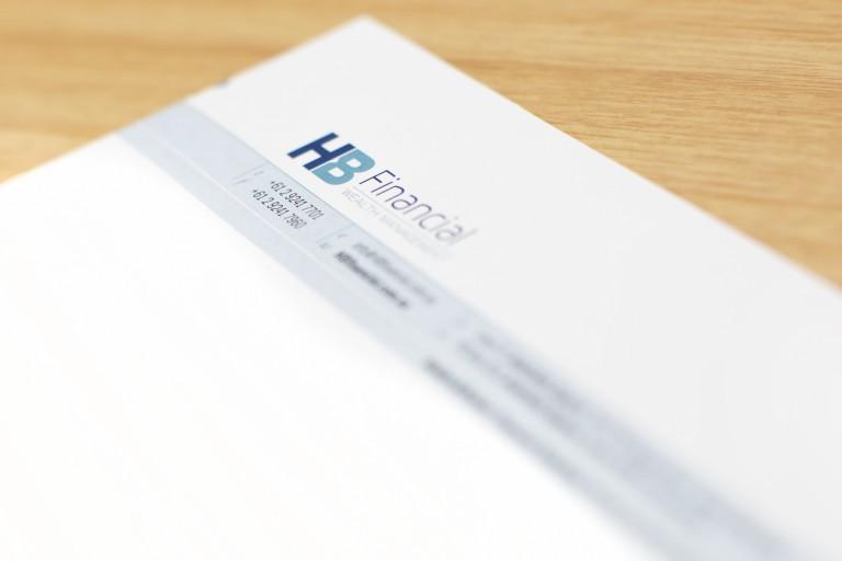 HB Financial letterhead beauty