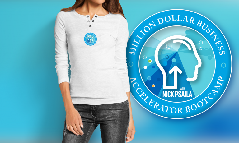 Nick Psaila - Million Dollar Business Accelerator Bootcamp - shirt long sleeve female