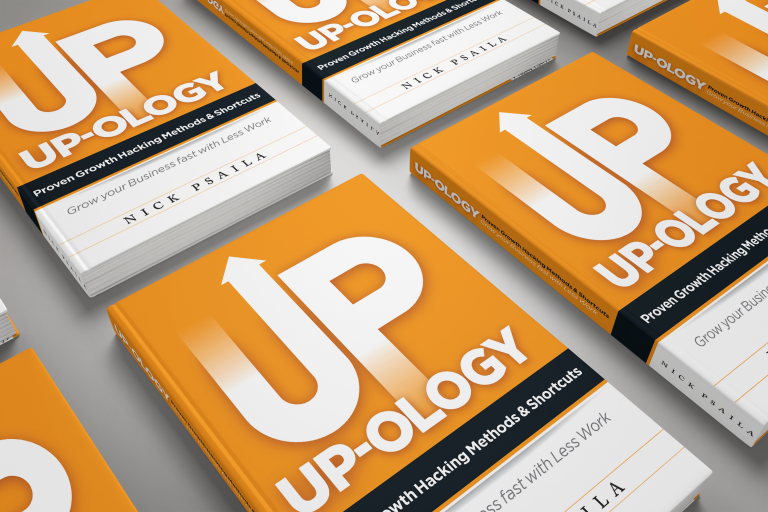 Nick Psaila - UP-OLOGY - Book Cover Design