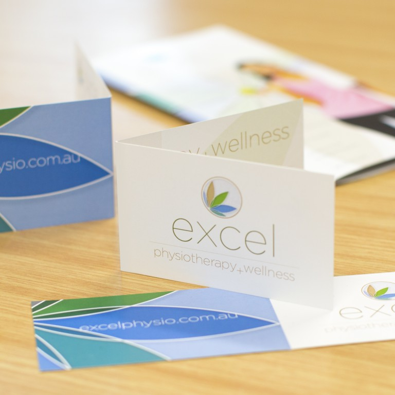 excel business cards - beauty
