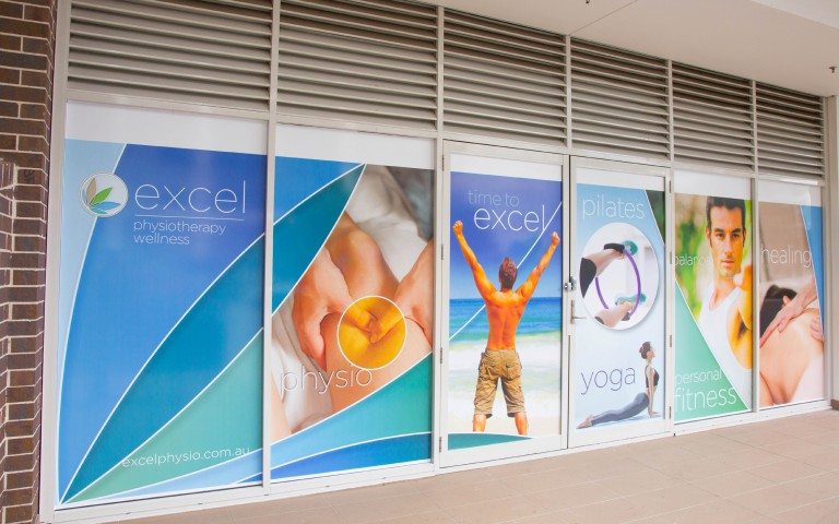 Excel Retail Signage - left section
