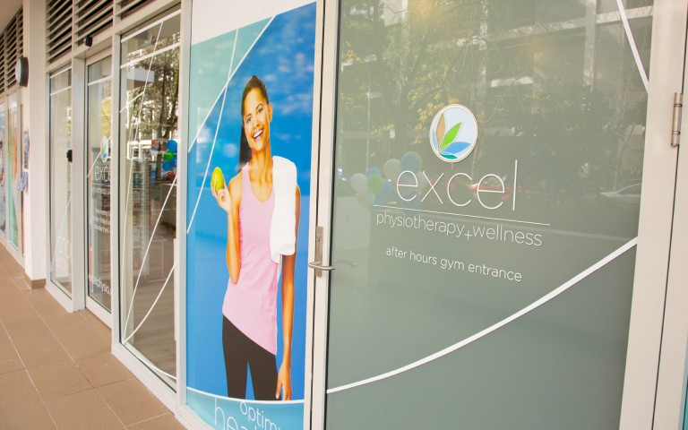 Excel Retail Signage - Gym Entrance
