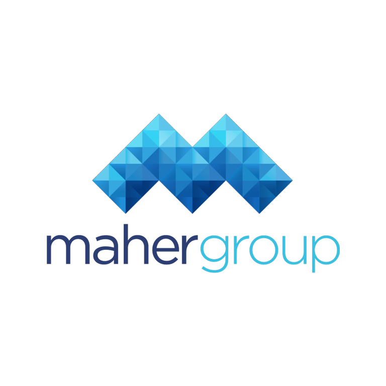 maher group - maher group stack logo