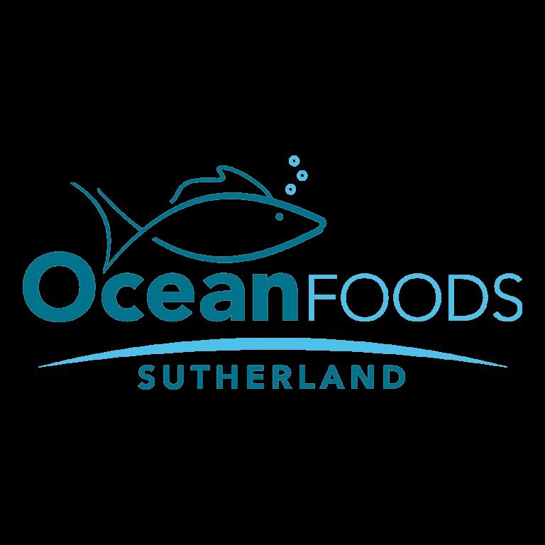 Ocean Foods Sutherland stack logo