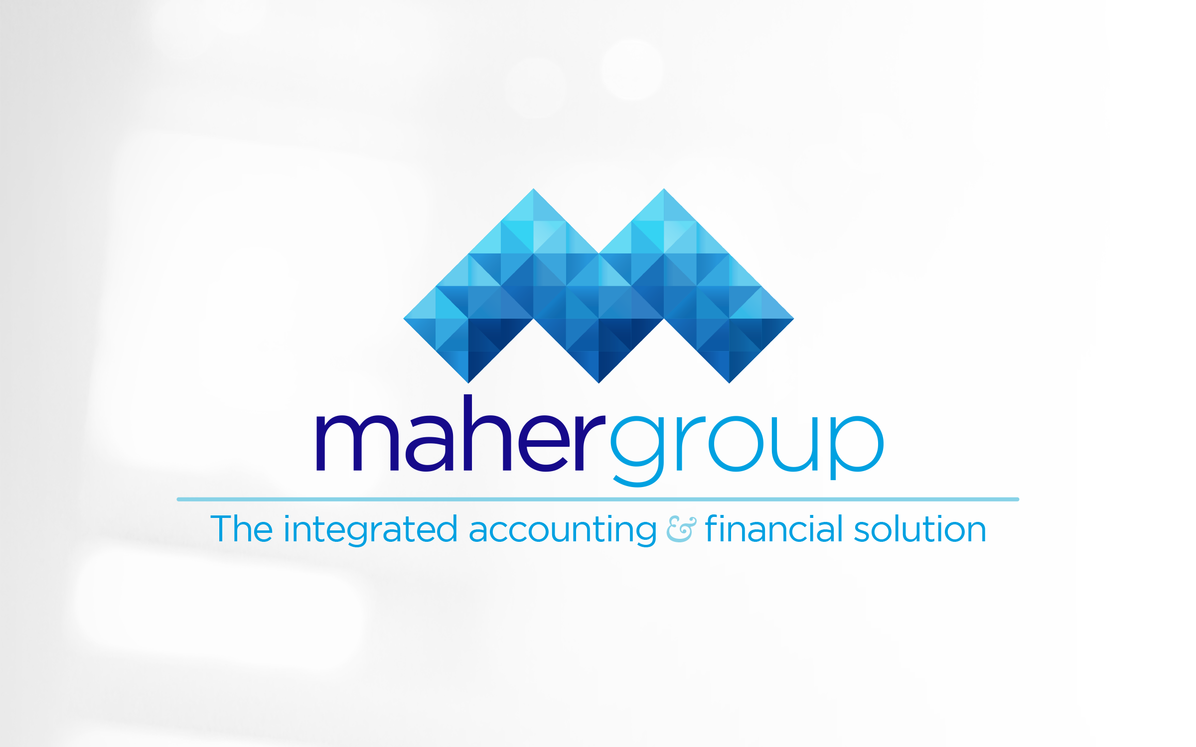Maher Group logo - with tagline - no background