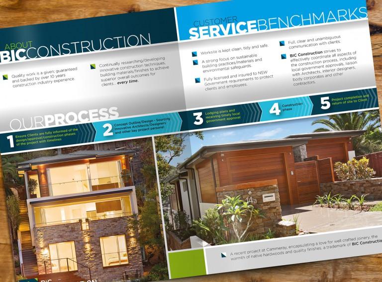 BIC Construction Brochure - Inside Spread