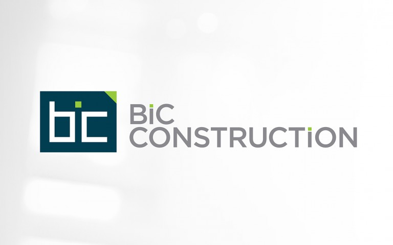 BIC Construction identity - Linear Stack1 logo lockup