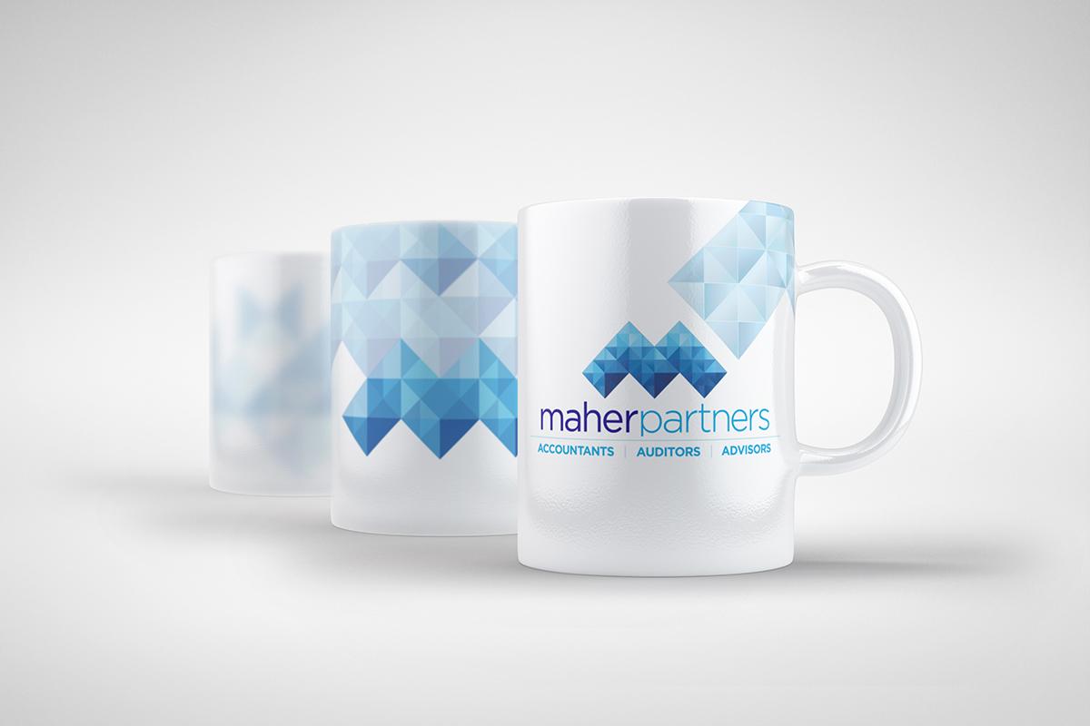 Maher Partners Mug Designs