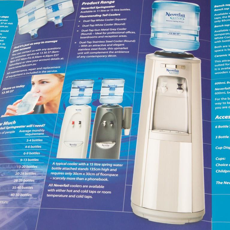 Neverfail Springwater Limited - brochure