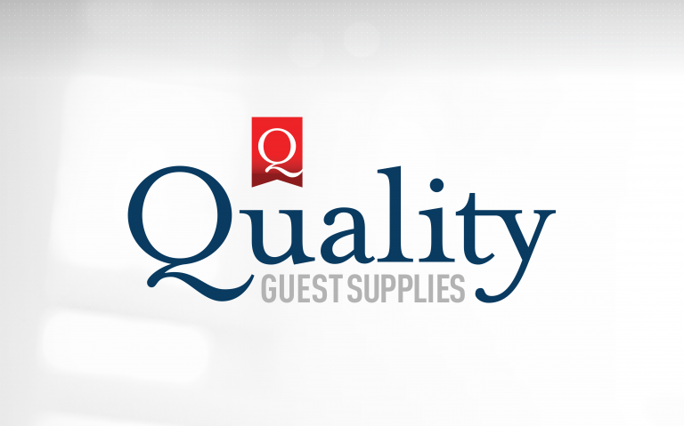 Quality Guest Supplies - stack logo positive