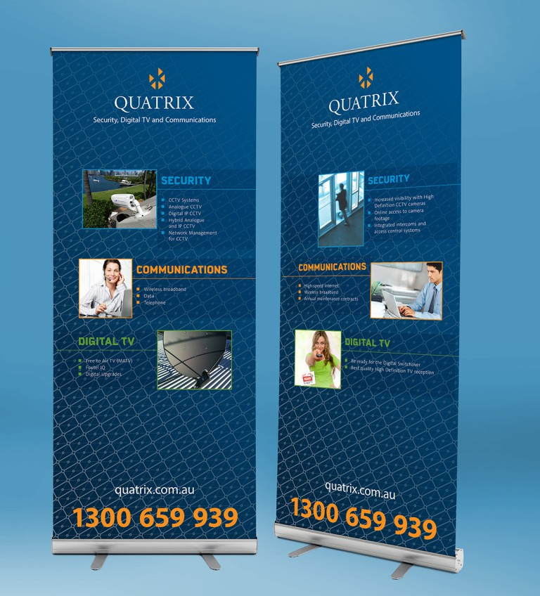 quatrix services banners
