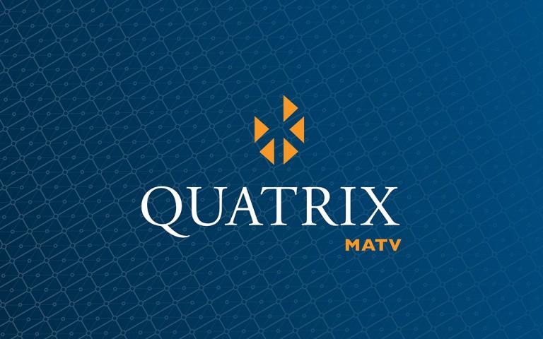 quatrix matv logo stack reverse