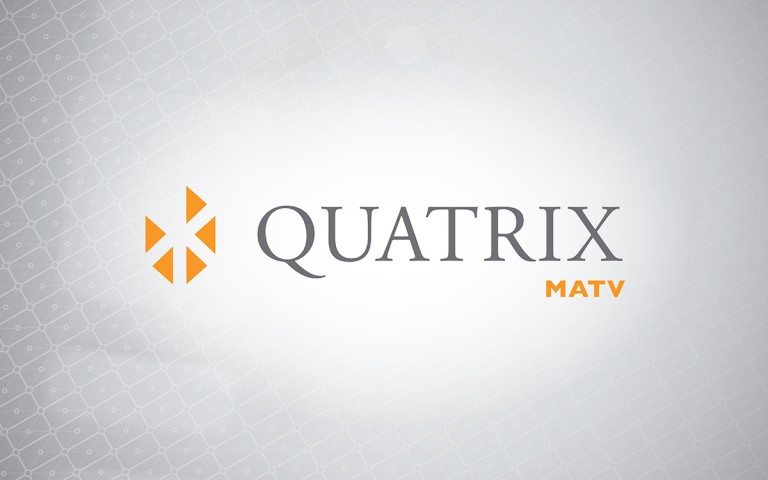 quatrix matv logo linear positive