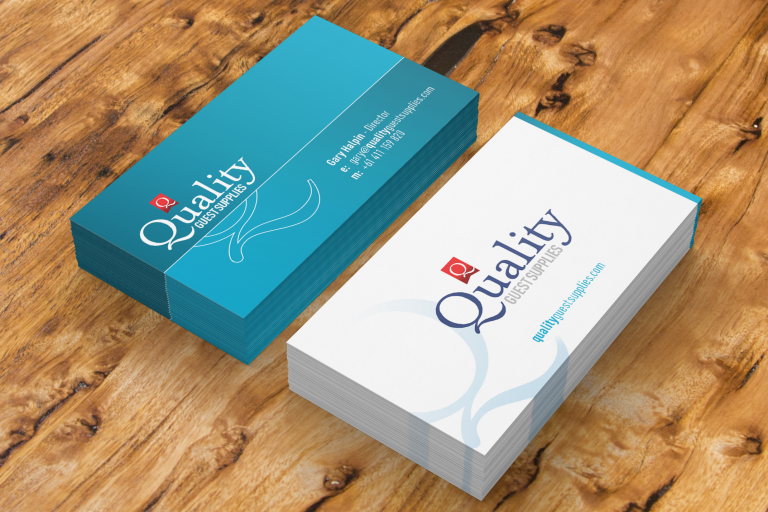 Quality Guest Supplies - business cards - Australian markets