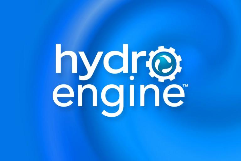 hydro-engine logo