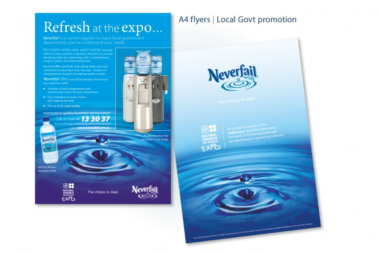 Neverfail Springwater Limited - flyers