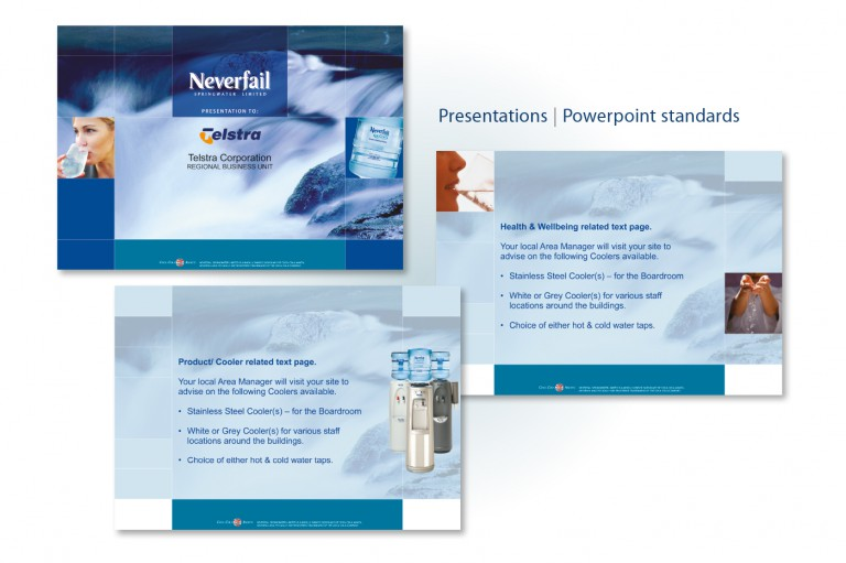 Neverfail Springwater Limited - presentation standards