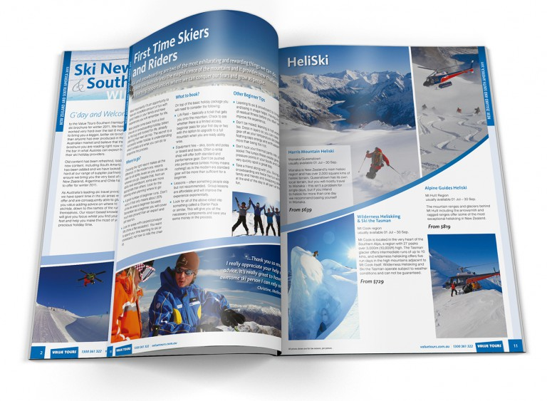Value Tours - Ski New Zealand Brochure
