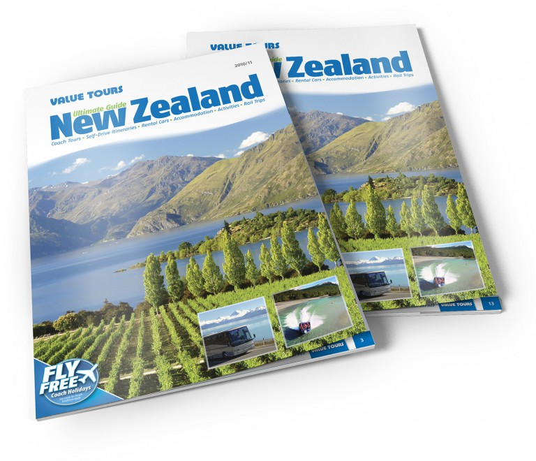 Value Tours - Ultimate New Zealand brochure