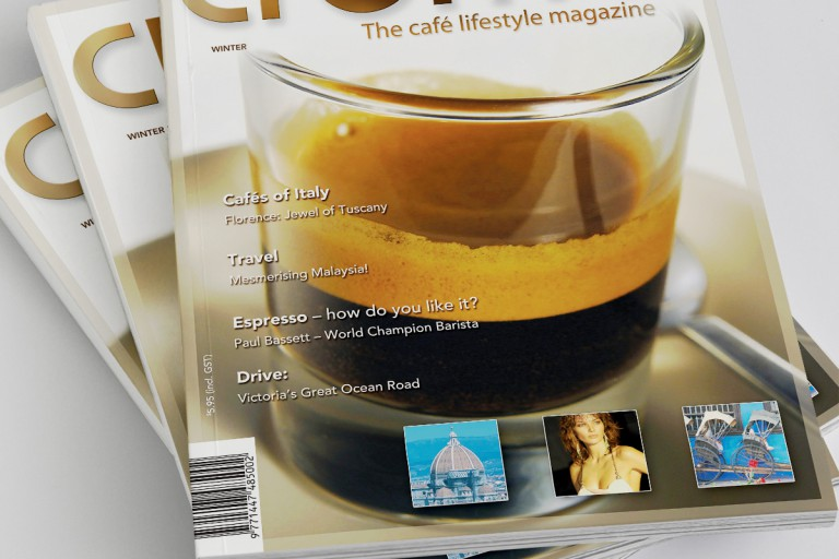 Crema Magazine Winter Issue Covers - feature